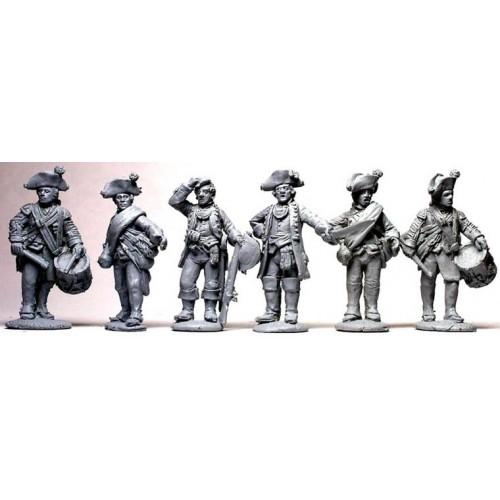 Hesse-Cassel Musketeer command standing
