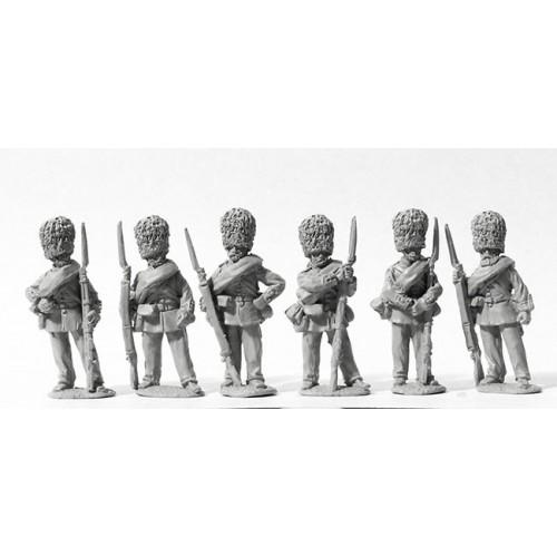 Scots Fusilier Guards standing