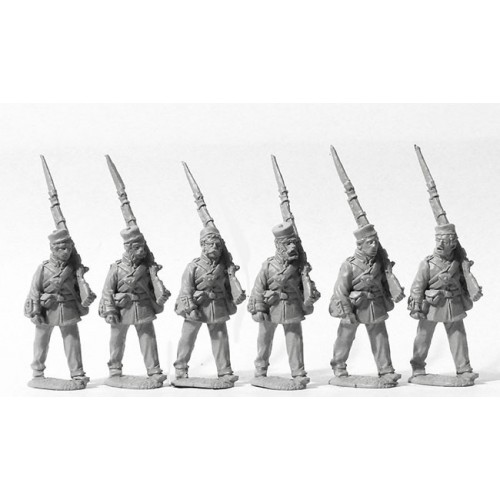 Line Infantry marching