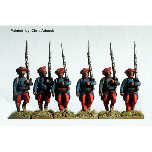 Infantry marching