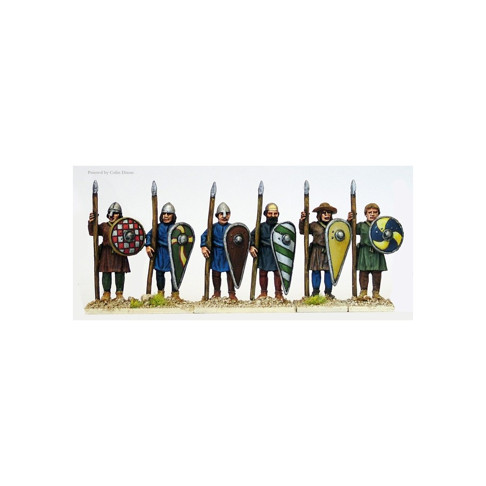 Unarmoured Spearmen