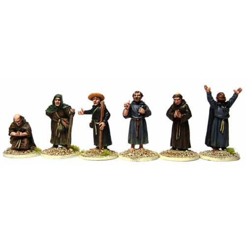 Clergy (mixed priests and monks)
