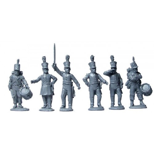 Dutch Militia command standing