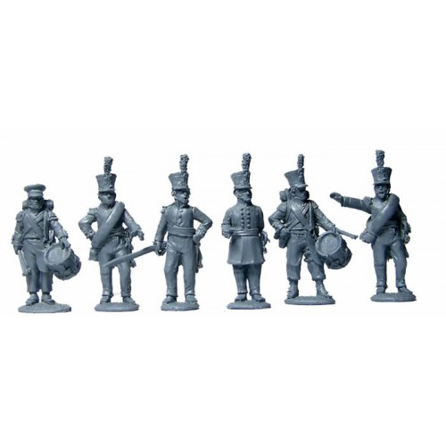 Dutch Line Infantry Command standing