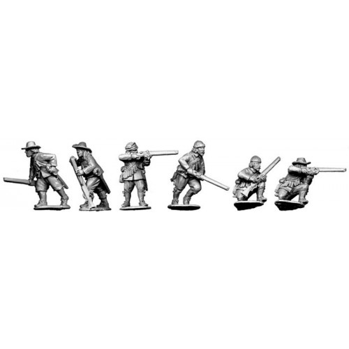 Dragoons/Forlorn Hope skirmishing