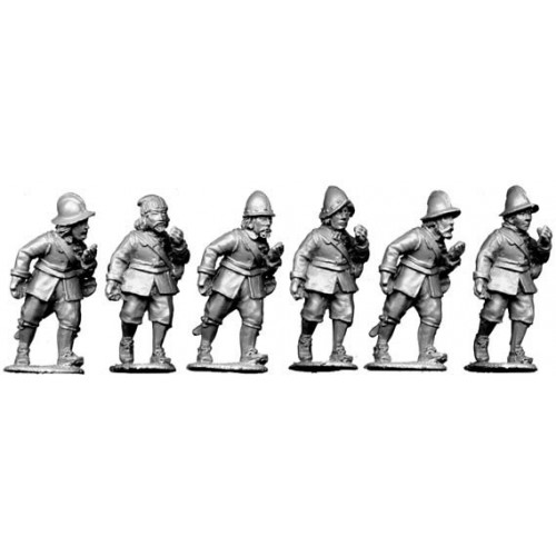Armoured pike advancing
