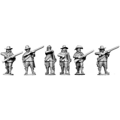 Musketeers loading
