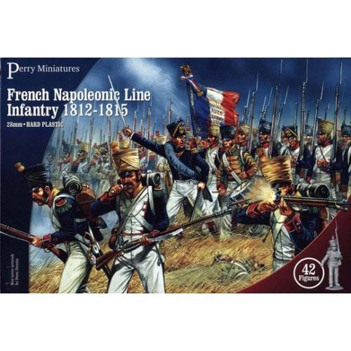 Plastic French Napoleonic Infantry