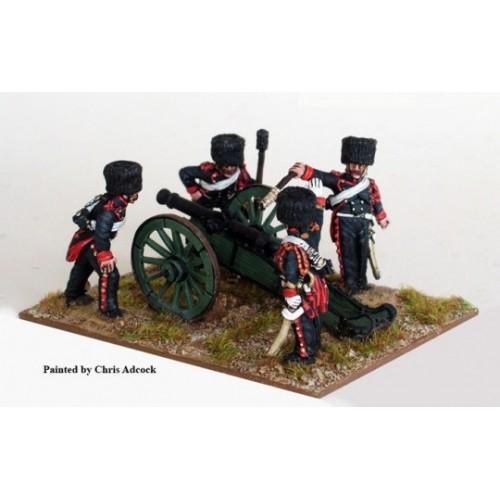 Guard Horse artillery firing 6 pdr