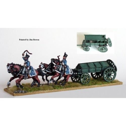 Line 4 horse ammunition caisson
