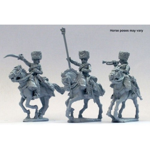 Chasseur a cheval of the Imperial Guard command in campaign dress