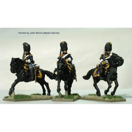Grenadiers a Cheval of the Imperial Guard galloping