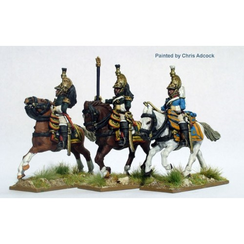 Dragoons of the Imperial Guard command in campaign dress