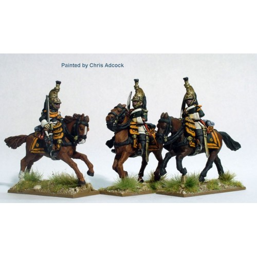 Dragoons of the Imperial Guard galloping