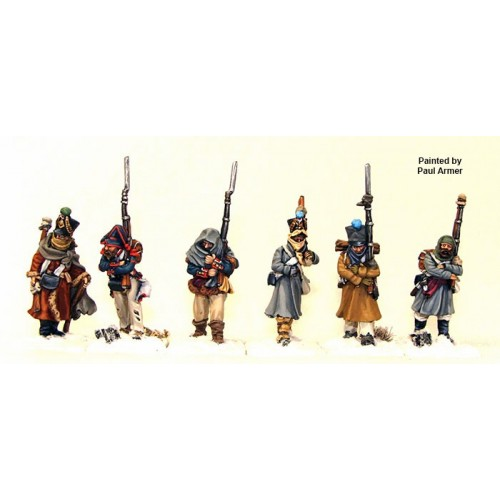 French Infantry marching 1