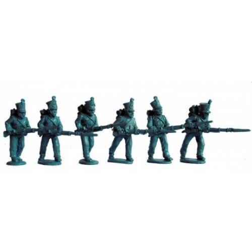 Line Fusiliers advancing at the chargeí