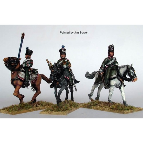 Chasseurs a Cheval command galloping