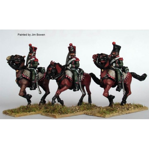 Chasseurs a Cheval galloping