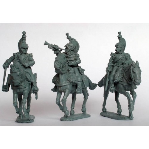 Cuirassier command galloping (Officer