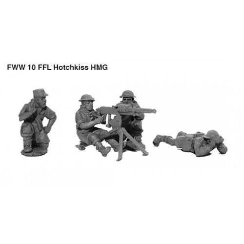 French Foreign Legion HMG