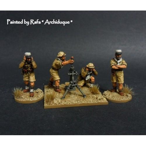 French Foreign Legion 81mm motar