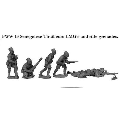Senegalese Tirailleur LMG's