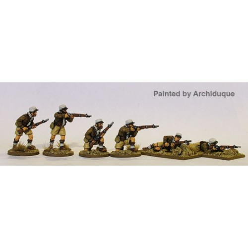 French Foreign Legion skirmishing