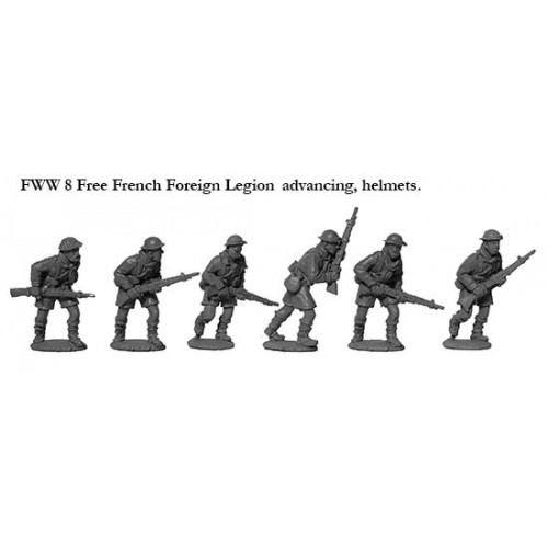 French Foreign Legion advancing