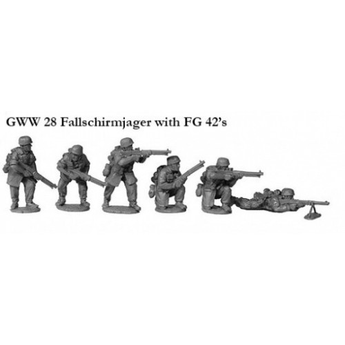 Fallschirmjagers with FG 42's