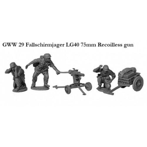 Fallschirmjager LG40 75mm Recoilless gun