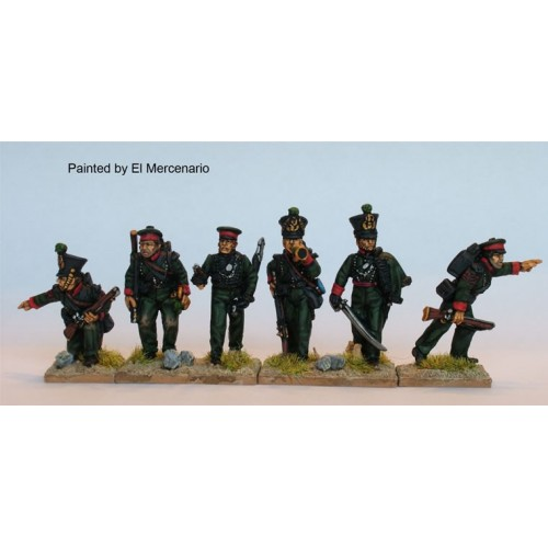 British Auxiliary Legion Rifle command