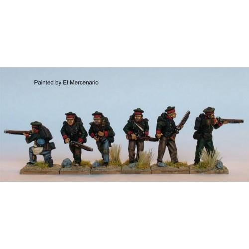 BAL Riflemen skirmishing