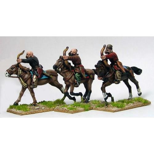 Turcoman horse archers shooting