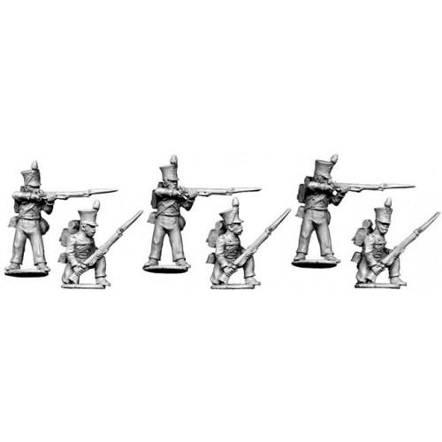 Line infantry firing line