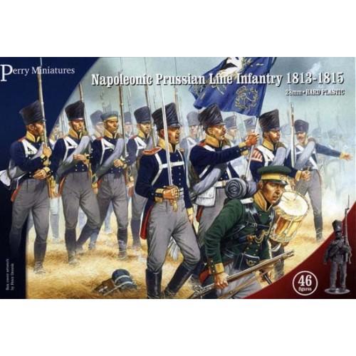 Plastic Napoleonic Prussian Line Infantry and Volunteer Jagers (46 figures)