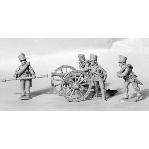 Foot Artillery loading British 6pdr
