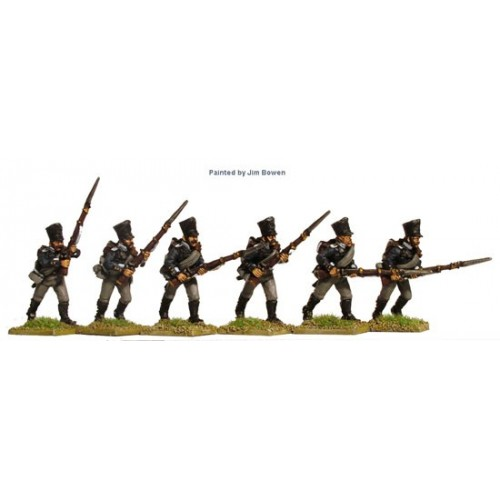 Fusiliers attacking