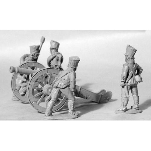 Foot Artillery Firing French 6pdr