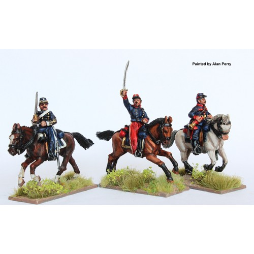 Argentine Cavalry command galloping