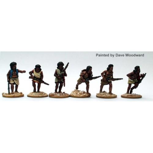 Beja riflemen advancing