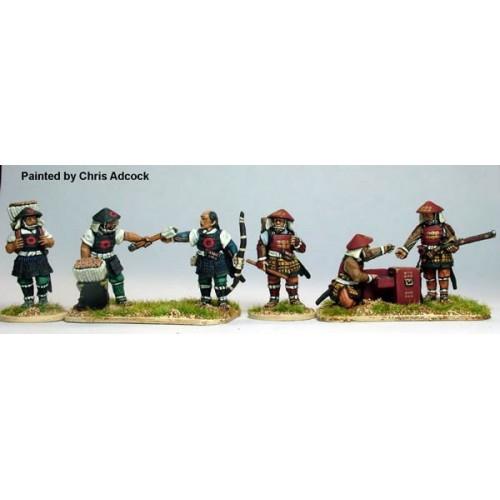 Ashigaru ammunition bearers