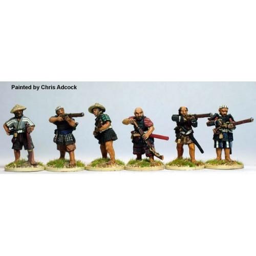Ikko-Ikki firing line
