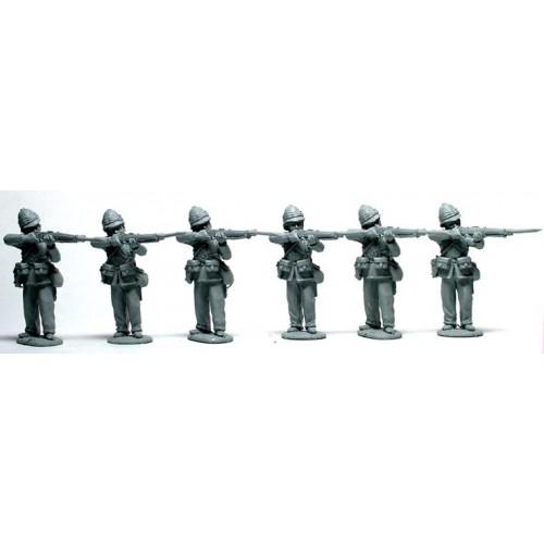 British Infantry standing