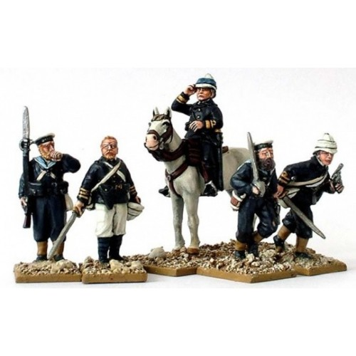 Naval Brigade command