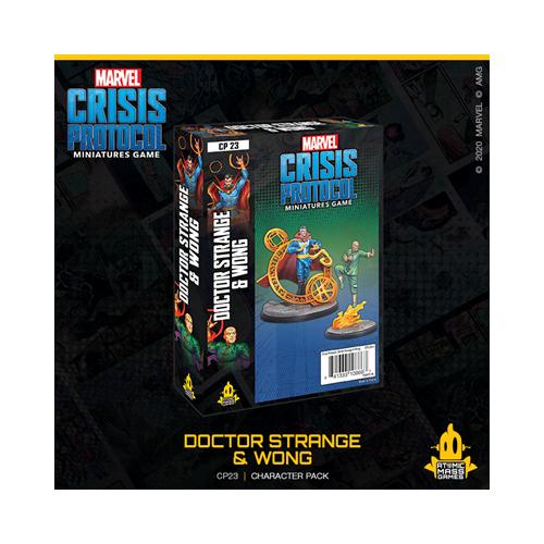 Crisis Protocol: Doctor Strange & Wong
