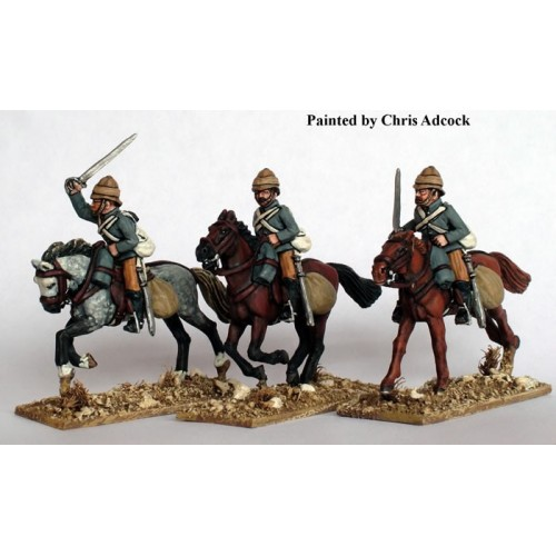 Hussars charging with swords
