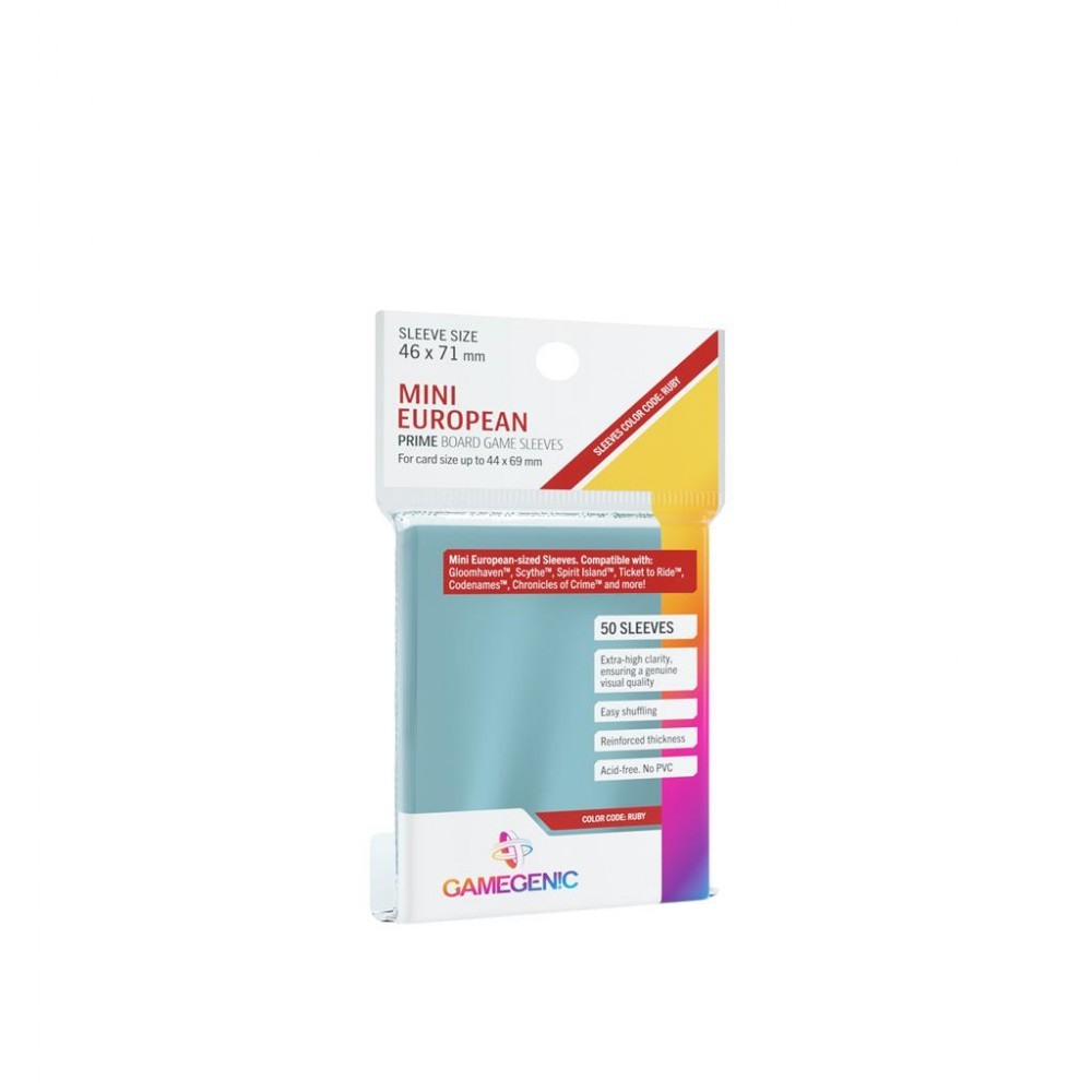 Prime Mini European-Sized Sleeves 46x71mm (50)
