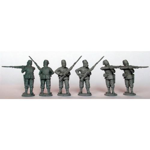 Egyptian Infantry firing line
