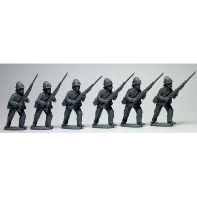 Infantry advancing