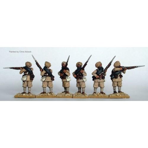 Sikh infantry firing line